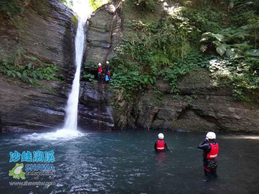 shawa canyoning taiwan-about2