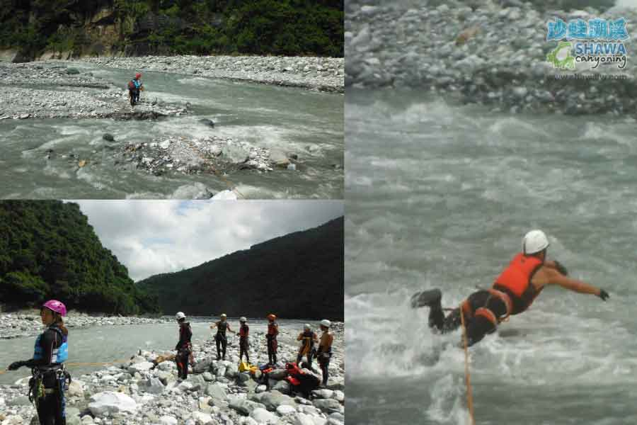 white water training