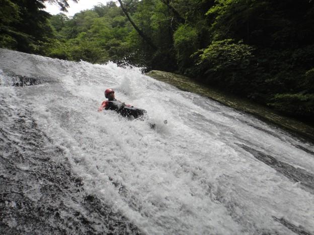 宇內溪大滑瀑