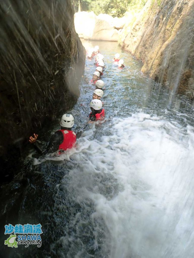 沙蛙溯溪-老梅溪-豬槽潭-Shawa Canyoning & River Tracing Taiwan