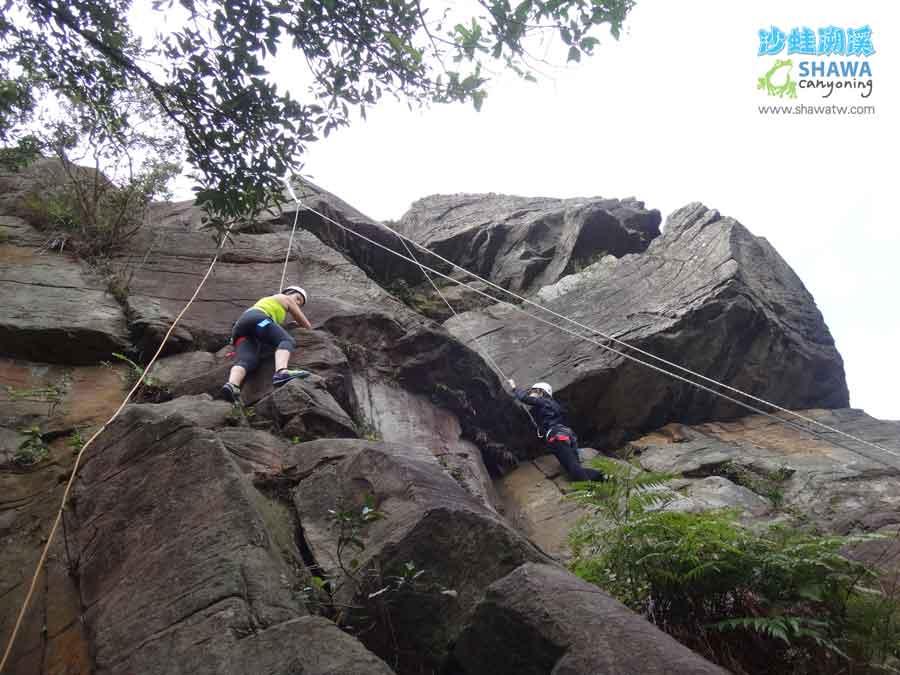熱海攀岩Rehai rock climbing 4 by 沙蛙溯溪Shawa Canyoning Taiwan