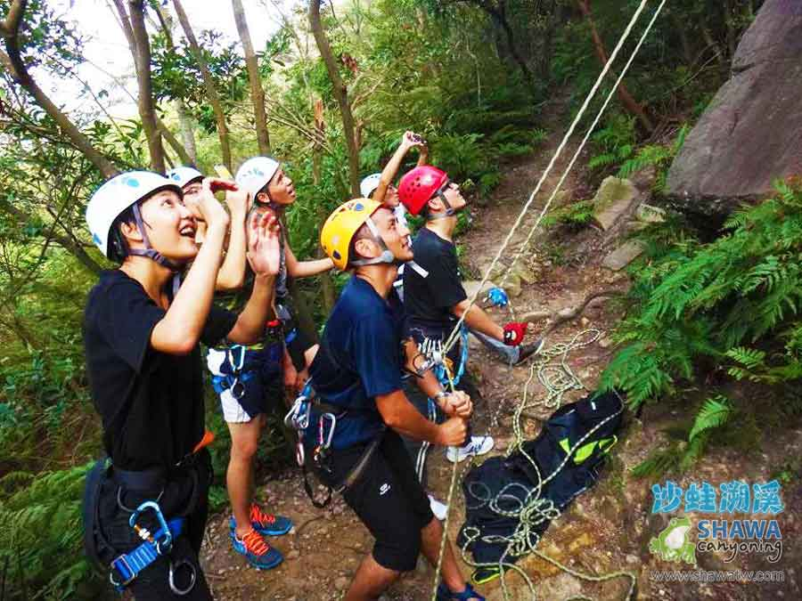 熱海攀岩Rehai rock climbing 1 by 沙蛙溯溪Shawa Canyoning Taiwan