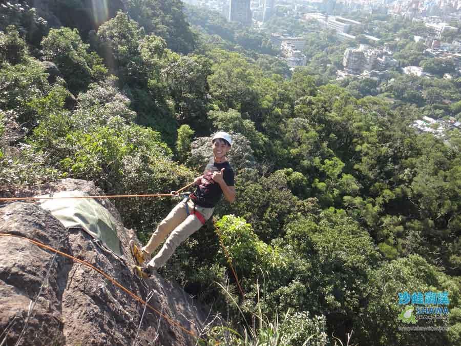 熱海攀岩Rehai rock climbing 5 by 沙蛙溯溪Shawa Canyoning Taiwan
