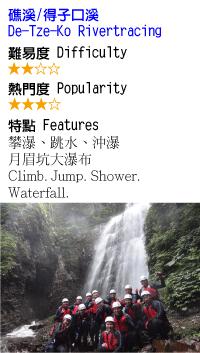 得子口溪-溯溪-沙蛙溯溪Shawa-Canyoning-Taiwan