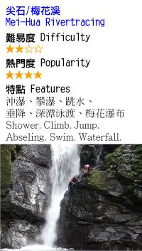 梅花溪-溯溪-沙蛙溯溪Shawa-Canyoning-Taiwan