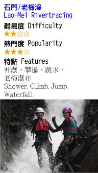 老梅溪-溯溪-沙蛙溯溪Shawa Canyoning Taiwan