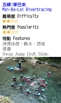 麥巴來溪-溯溪-沙蛙溯溪Shawa-Canyoning-Taiwan