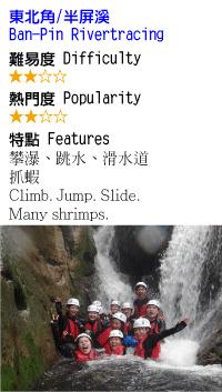 半屏溪-溯溪-沙蛙溯溪Shawa-Canyoning-Taiwan