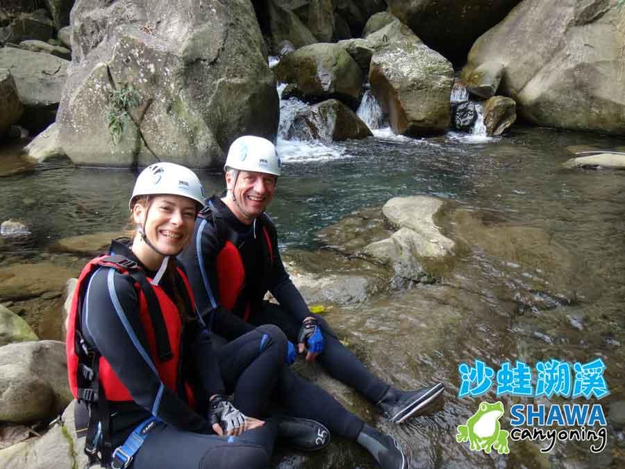 新竹梅花溪-沙蛙溯溪-起點-SHAWA CANYONING TAIWAN Mei-Hua river tracing