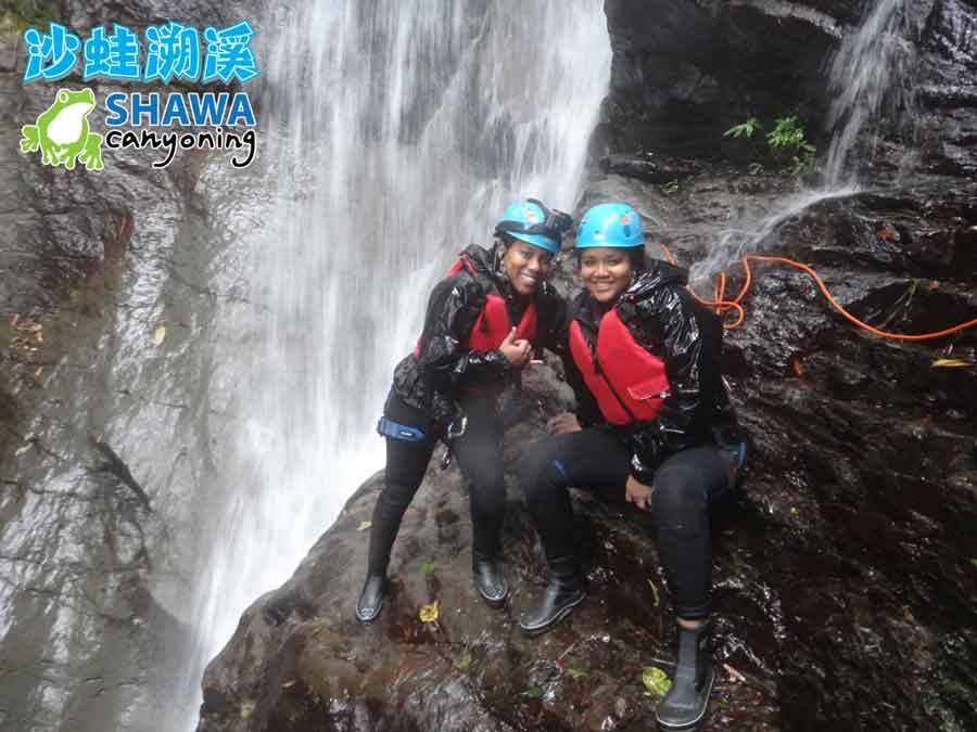 新竹梅花溪-沙蛙溯溪-跳台回拍-SHAWA CANYONING TAIWAN Mei-Hua river tracing