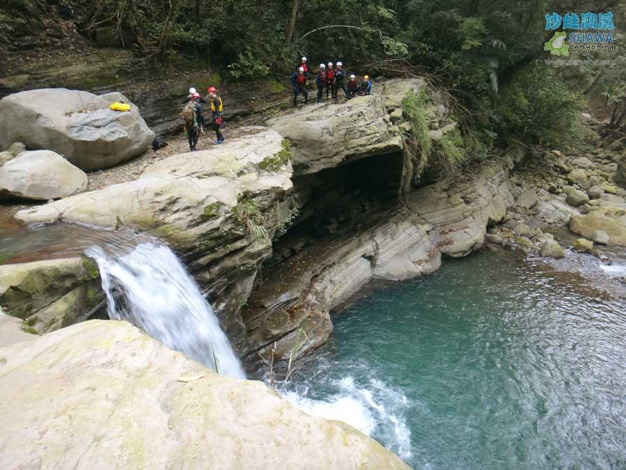 苗栗南庄風美溪溯溪1-沙蛙溯溪-Shawa Canyoning Taiwan-Fone-Mei river tracing