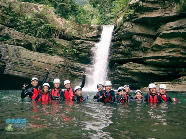 苗栗南庄風美溪溯溪2-沙蛙溯溪-Shawa Canyoning Taiwan-Fone-Mei river tracing