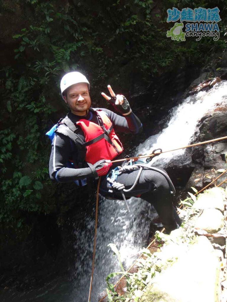 石磐溪溪降Shi-Pan canyoning 6 by 沙蛙溯溪Shawa Canyoning Taiwan