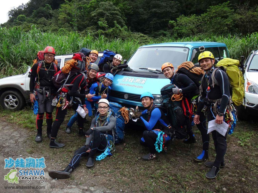 沙蛙溯溪-關於我-Shawa Canyoning Taiwan 10