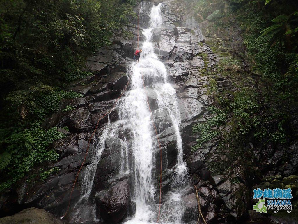 沙蛙溯溪-關於我-Shawa Canyoning Taiwan 13