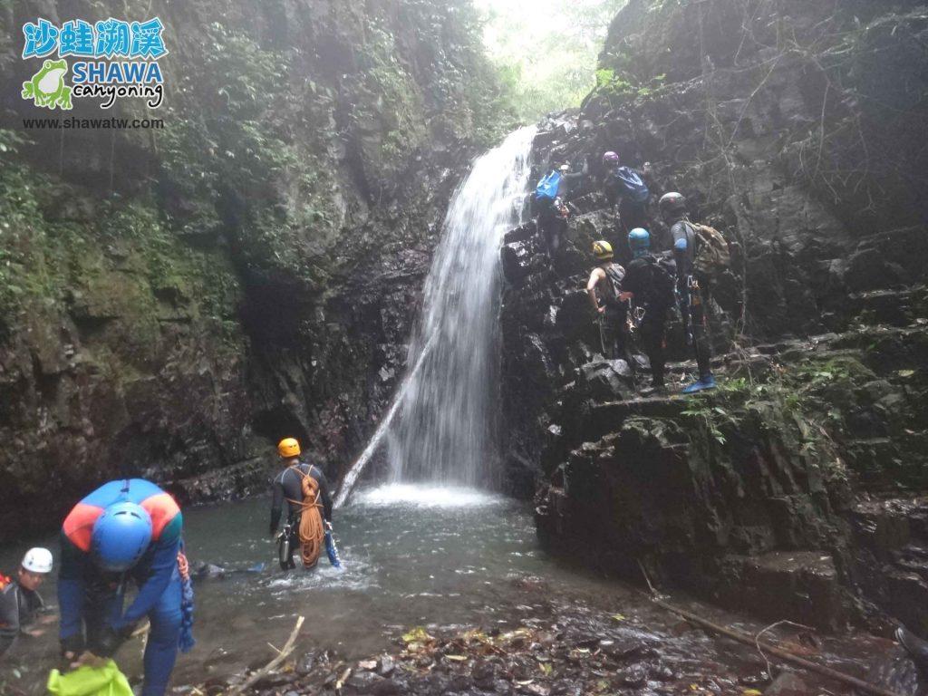 沙蛙溯溪-關於我-Shawa Canyoning Taiwan 2