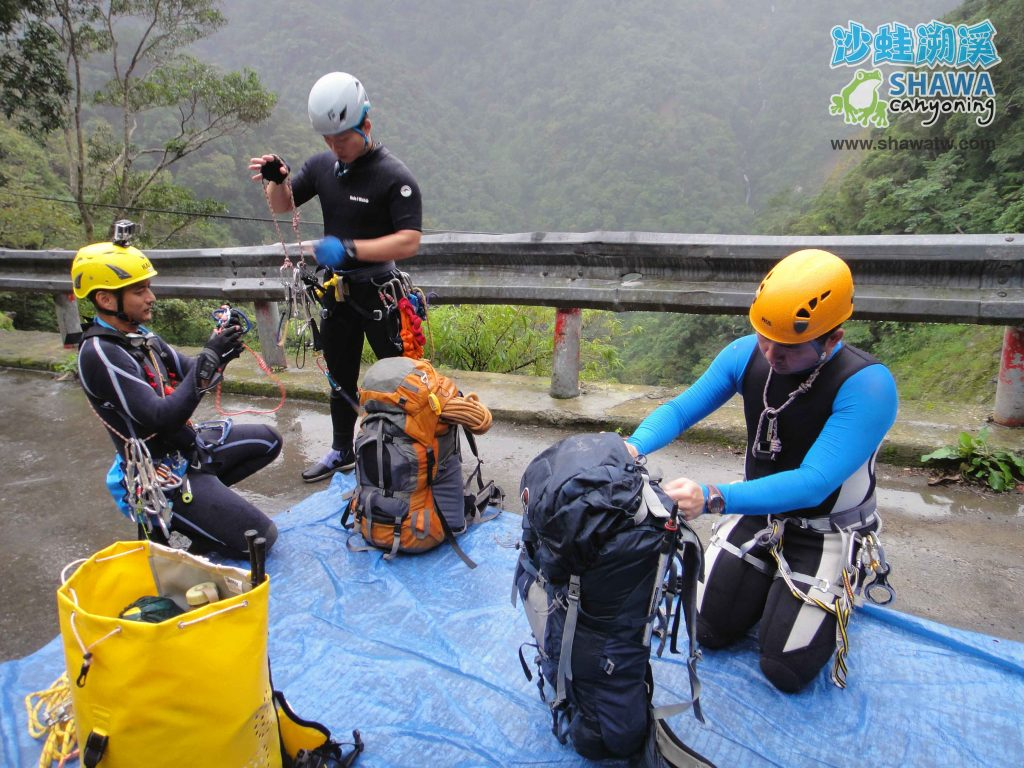 沙蛙溯溪-關於我-Shawa Canyoning Taiwan 3